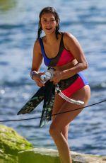 NINA DOBREV in Bikini Shooting a Documentary in Hawaii 06/26/2017