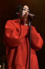 NOAH CYRUS Performs at 2017 BLI Summer Jam in New York 06/16/2017