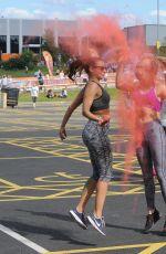 OLIVIA COX at Wembley Colour Run in London 06/11/2017