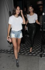OLIVIA CULPO and CARA SANTANA at Craig