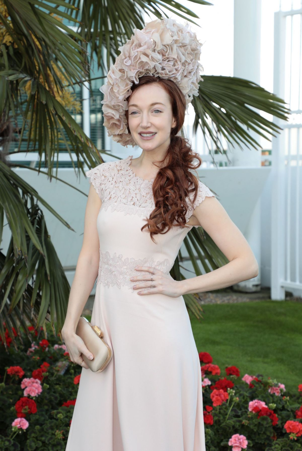 OLIVIA GRANT at Epsom Derby 2017 in Surrey 06/03/2017