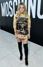 OLIVIA HOLT at Moschino Spring Summer 2018 Resort Collection 06/08/2017