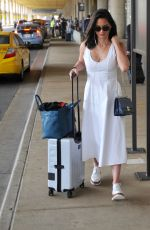 OLIVIA MUNN Arrives at Airport in Washington 06/14/2017