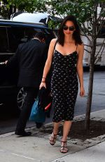 OLIVIA MUNN Arrives at Her Hotel in New York 06/15/2017