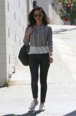 OLIVIA MUNN Heading to a Hair Salon in Westwood 06/27/2017