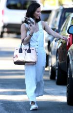 OLIVIA MUNN Heads Back to Her Car in Los Angeles 06/26/2017