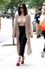 OLIVIA MUNN Out and About in New York 06/07/2017