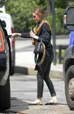 OLIVIA PALERMO Out in New York 06/02/2017