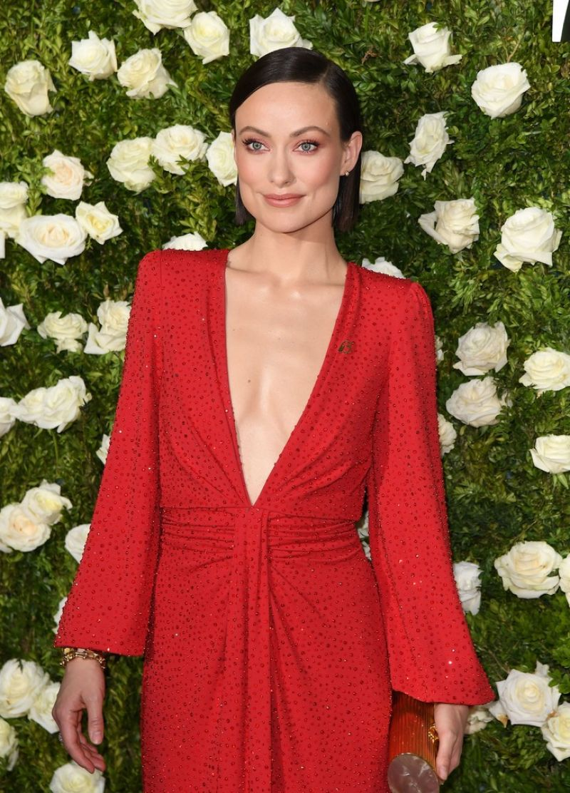 OLIVIA WILDE at Tony Awards 2017 in New York 06/11/2017 ... Olivia Wilde