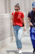 OLIVIA WILDE Out and About in New York 06/25/2017