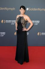 PAGET BREWSTER at 57th Monte Carlo Television Festival Closing Ceremony 06/20/2017