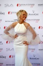 PAMELA ANDERSON at 57th Monte-Carlo Television Festival Opening 06/16/2017