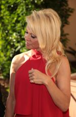 PAMELA ANDERSON at a Charity Event at Montage Hotel in Beverly Hills 06/10/2017