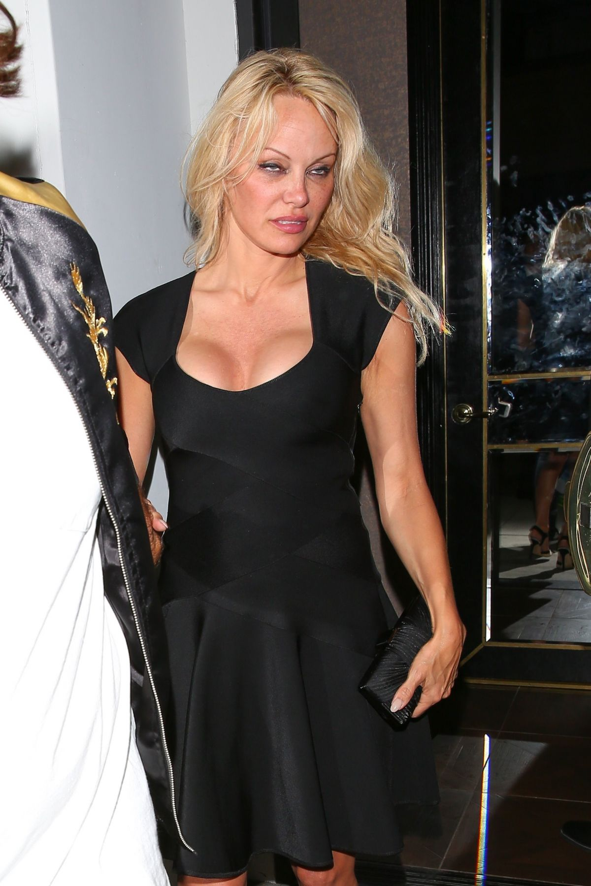 Pamela Anderson Leaves Avenue Nightclub In Los Angeles 06