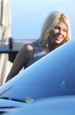 PAMELA ANDERSON Leaves Nobu in Malibu 06/09/2017