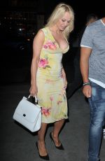PAMELA ANDRESON at Beauty & Essex in Hollywood 05/08/2017