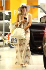 PARIS HILTON Out and About in Hollywood 06/27/2017