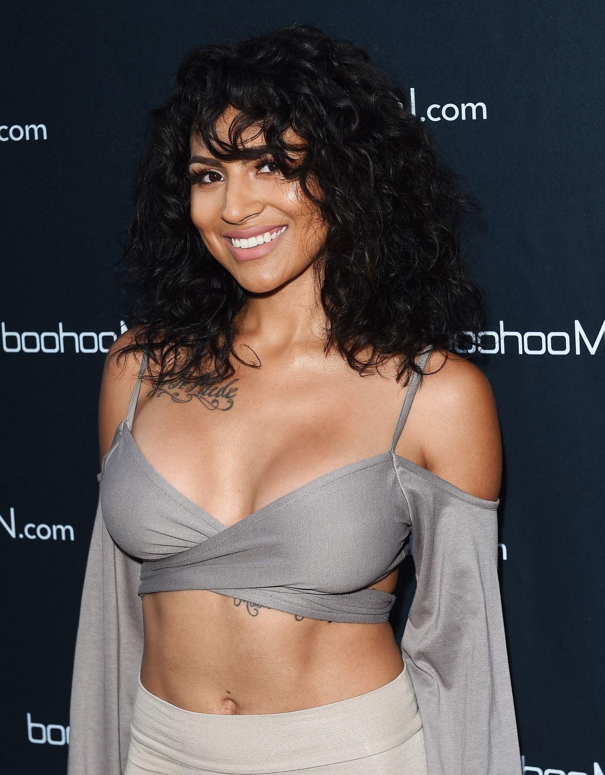 PAULA DEANDA at boohooman.com Launch Party in Los Angeles 06/20/2017