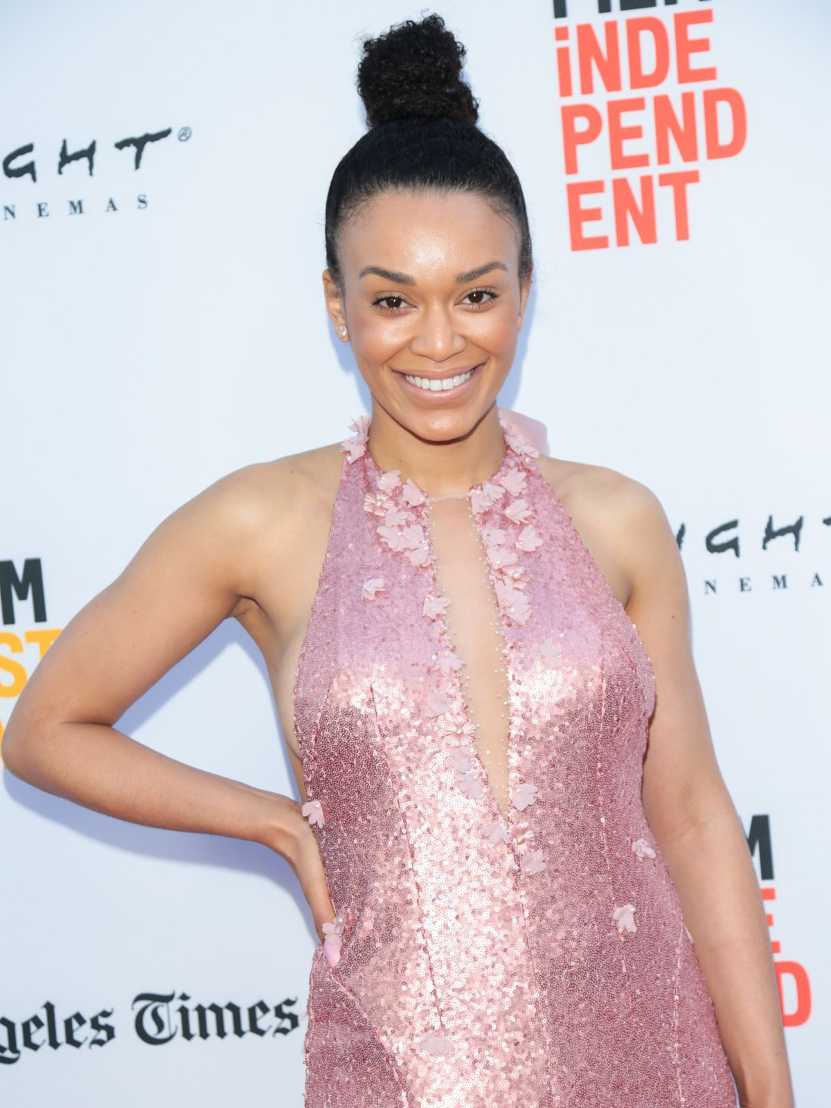 PEARL THUSI at The Book of Henry Premiere at LA Film Festival 06/14/2017