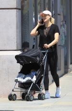 PETA MURGATROYD Out with Her Baby in Los Angeles 06/02/2017
