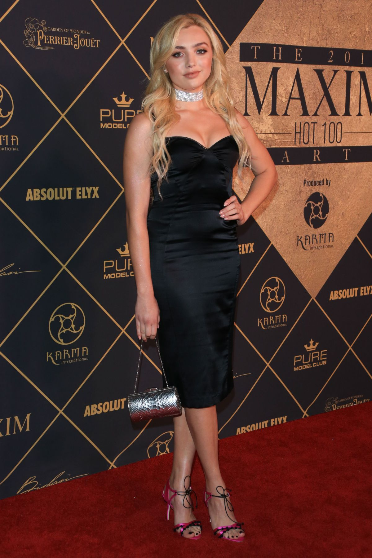 PEYTON ROI LIST at Maxim Hot 100 Event in Hollywood 06/24/2017