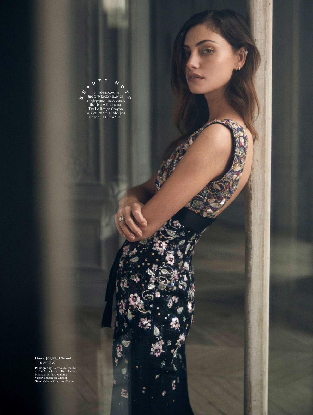PHOEBE TONKIN in Elle Magazine, Australia July 2017 ...