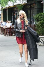 POPPY DELEVINGNE Out in New York 06/15/2017