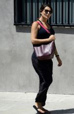 Pregnant DANIELLE BUX Out Shopping in West Hollywood 06/13/2017