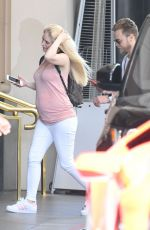 Pregnant HEIDI MONTAG Out for Lunch in Beverly Hills 06/15/2017