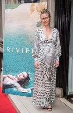 Pregnant JULIA STILES at Riviera Launch Event in London 06/13/2017