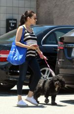 Pregnant MILA KUNIS Out Shopping in Los Angeles 06/20/2017