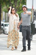 Pregnant NIKKI REED and Ian Somerhalder Out and About in Los Angeles 06/10/2017