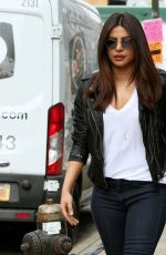 PRIYANKA CHOPRA on the Set of Quantico in New York, May 2017