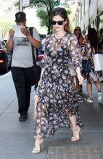 RACHEL BILSON Out in New York 06/22/2017