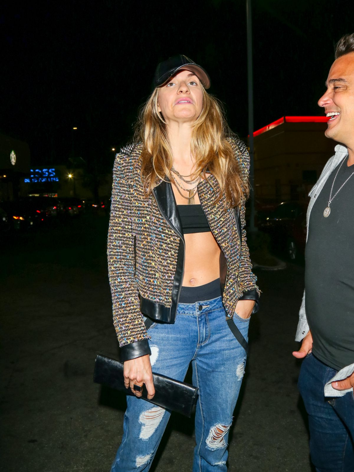 RACHEL MCCORD Night Out in Los Angeles 06/20/2017