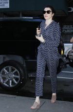 RACHEL WEISZ Out and About in New York 06/01/2017
