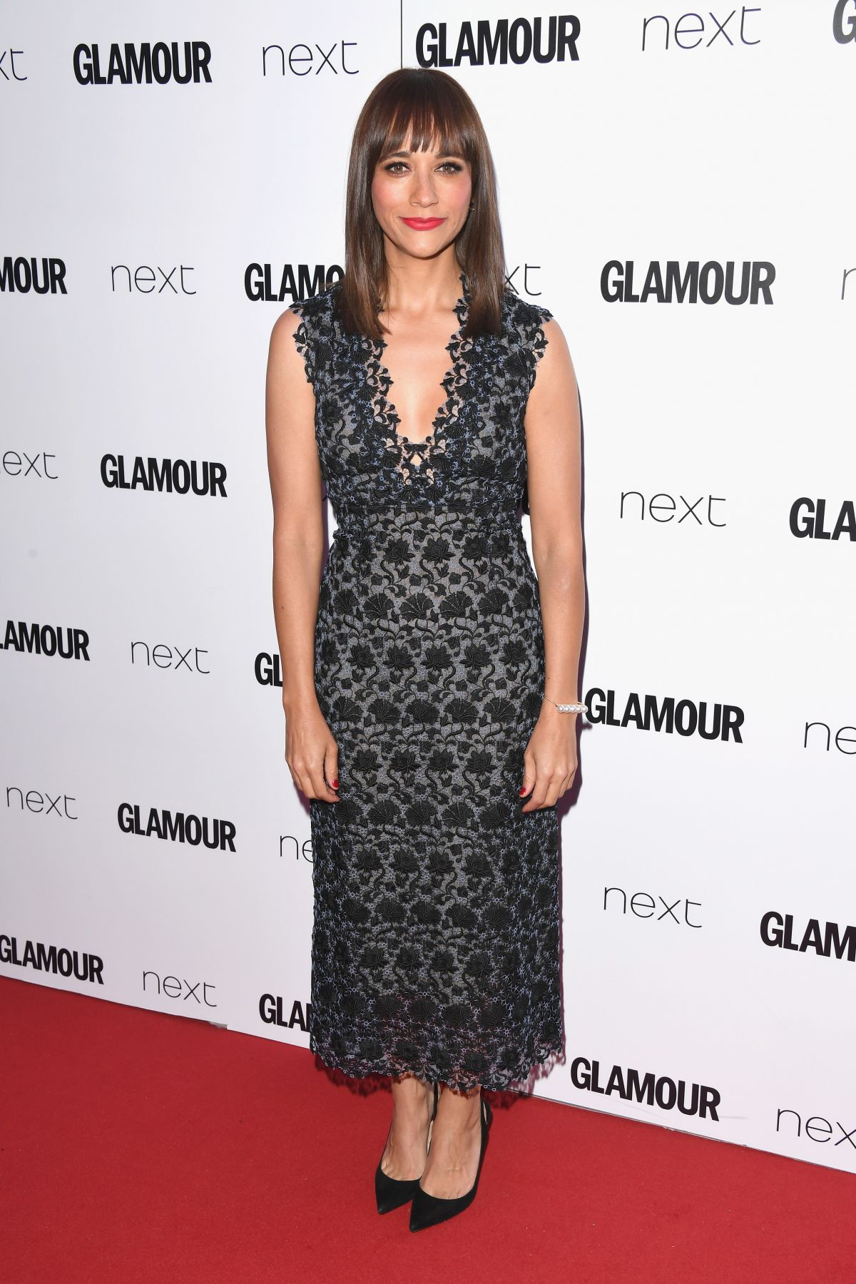 RASHIDA JONES at Glamour Women of the Year Awards in London 06/06/2017