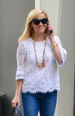 REESE WITHERSPOON Out and About in Beverly Hills 06/07/2017