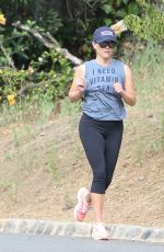 REESE WITHERSPOON Out for Morning Workout in Los Angeles 06/23/2017