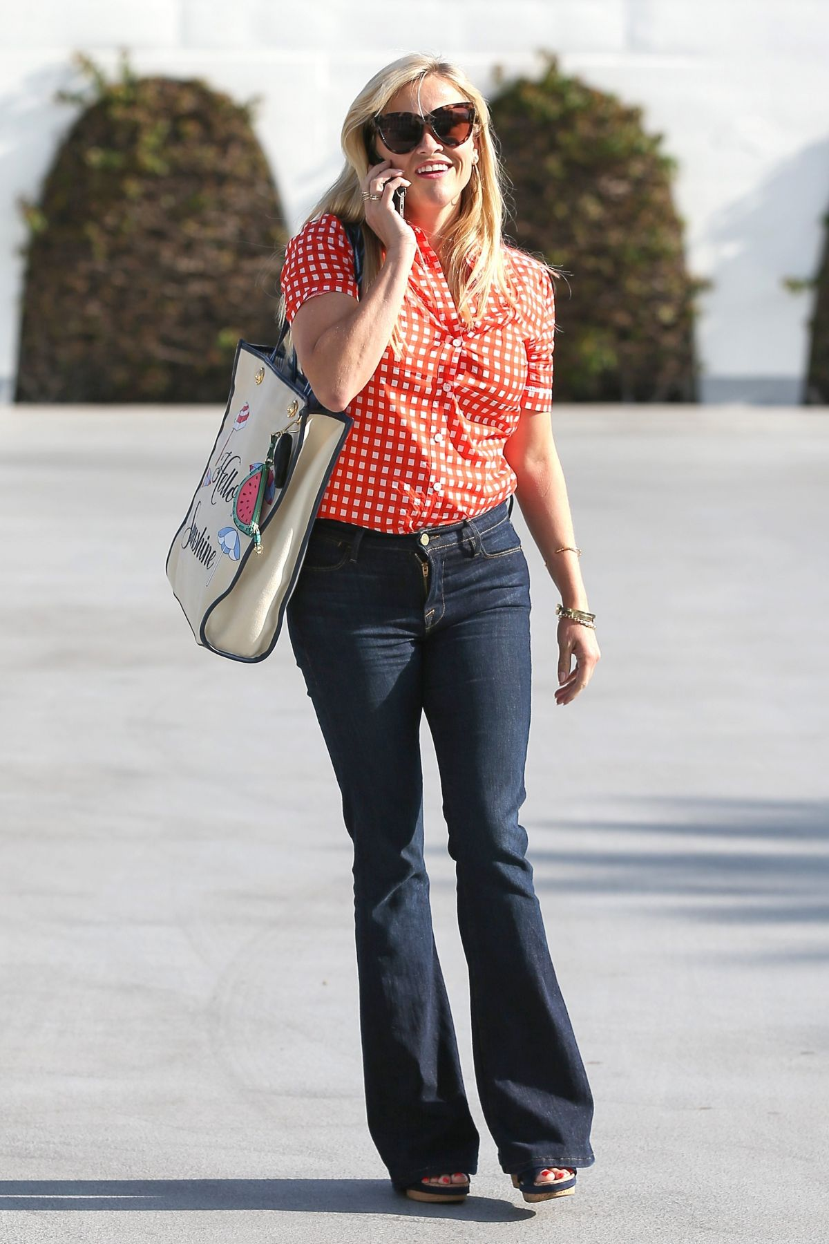 REESE WITHERSPOON Out in Beverly Hills 06/05/2017