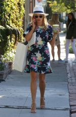 REESE WITHERSPOON Out on Melrose Place in West Hollywood 06/26/2017
