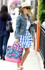 REESE WITHERSPOON Out Shopping in Santa Monica 06/03/2017