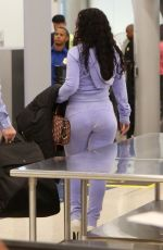 RIHANNA at LAX Airport in Los Angeles 06/24/2017