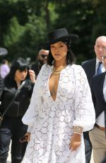RIHANNA at LVMH Prize Young Fashion Designer 2017 in Paris 06/16/2017