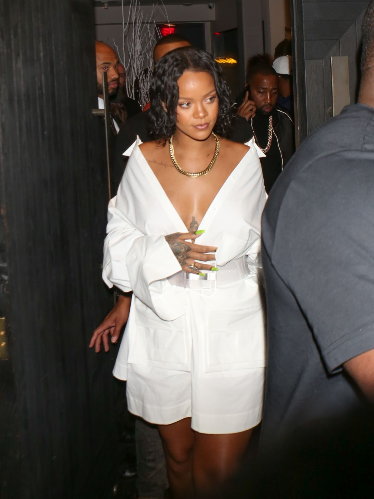 RIHANNA at Revolve Launch: Madeworn x Roc96 Capsule in Los Angeles 05/31/2017
