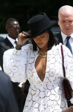 RIHANNA Out and About in Paris 06/16/2017