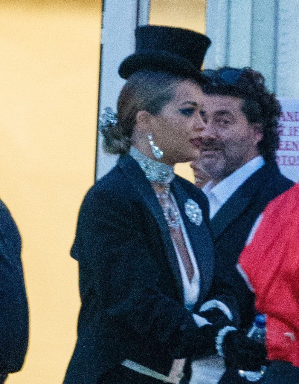 RITA ORA at Themed Warner Brothers Event in Hertfordshire 06/16/2017