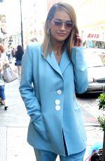 RITA ORA Leaves Her Hotel in London 06/20/2017