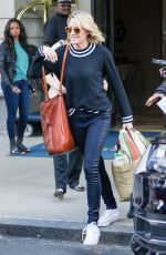 ROBIN WRIGHT Leaves Her Hotel in New York 06/01/2017