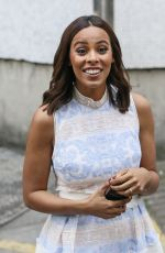 ROCHELLE HUMES Arrives at ITV Studios in London 06/01/2017